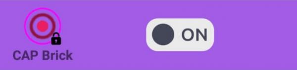 Quando Il CAP è Utilizzato In Normal Mode, L'utente Viene Avvisato Quando Il Sensore Viene Toccato
