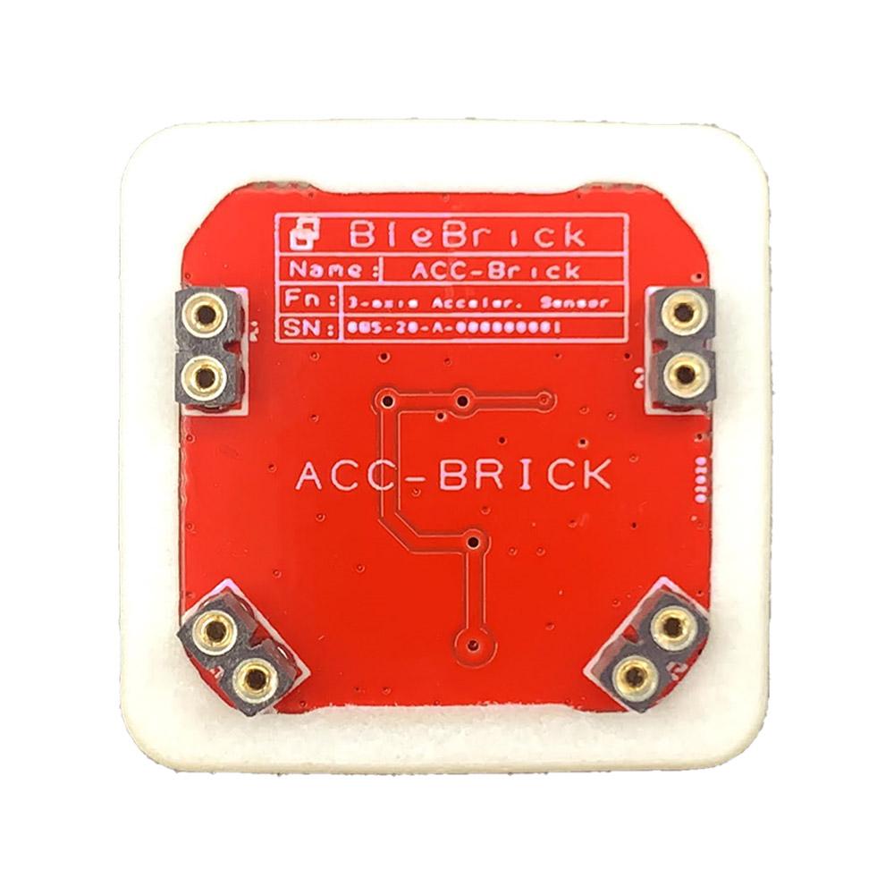 Il Blebrick ACC è Un Sensore Di Accelerazione A 3 Assi Che Permette Di Rilevare Urti, Attività E Cambi Di Orientamento