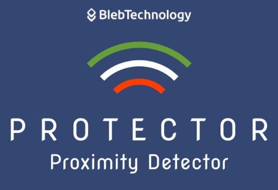 Il Protector è Il Dispositivo Di Distanziamento Sociale E Tracciamento Contagio Sviluppato Dalla Bleb Technology