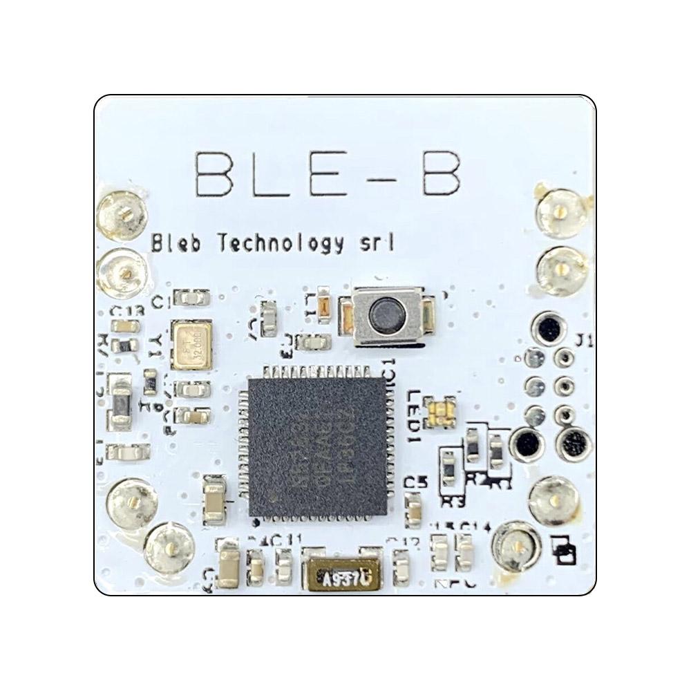 Il BLE-B è il mattoncino di base delegato alla gestione operativa del sistema e delle comunicazioni tramite Bluetooth Low Energy BLE 4.2