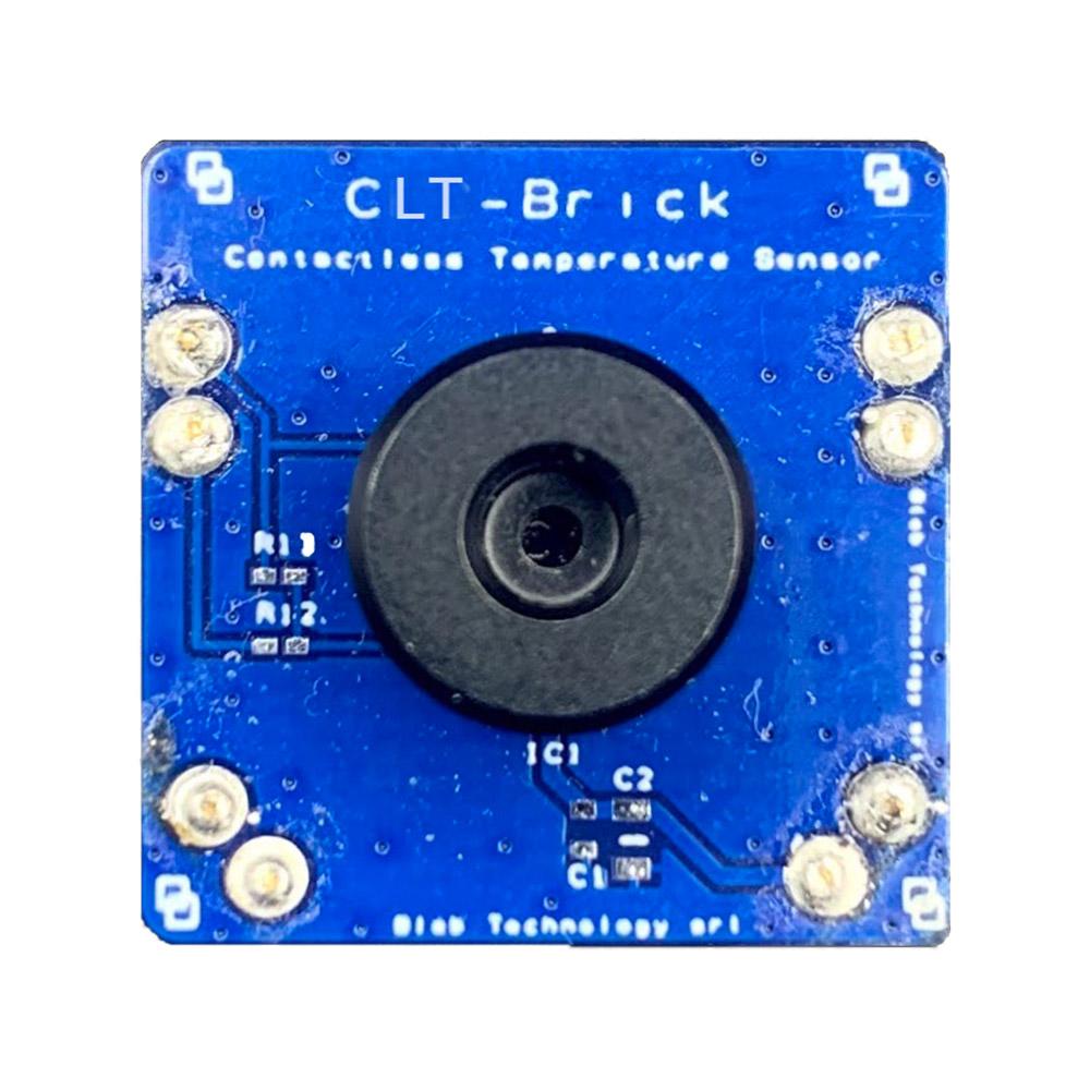 Il Blebrick CLT Include Un Sensore Di Temperatura Contact-less Che Misura Sia La Temperatura Dell'ambiente Che Quella Dell'oggetto A Cui Si Sta Puntando