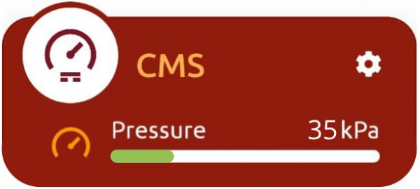 Quando Il CMS è Connesso Al Tuo BLE-B, La MakeApp Mostrerà I Valori Di Tensione, Corrente E Potenza Misurati Nel Punto Di Applicazione