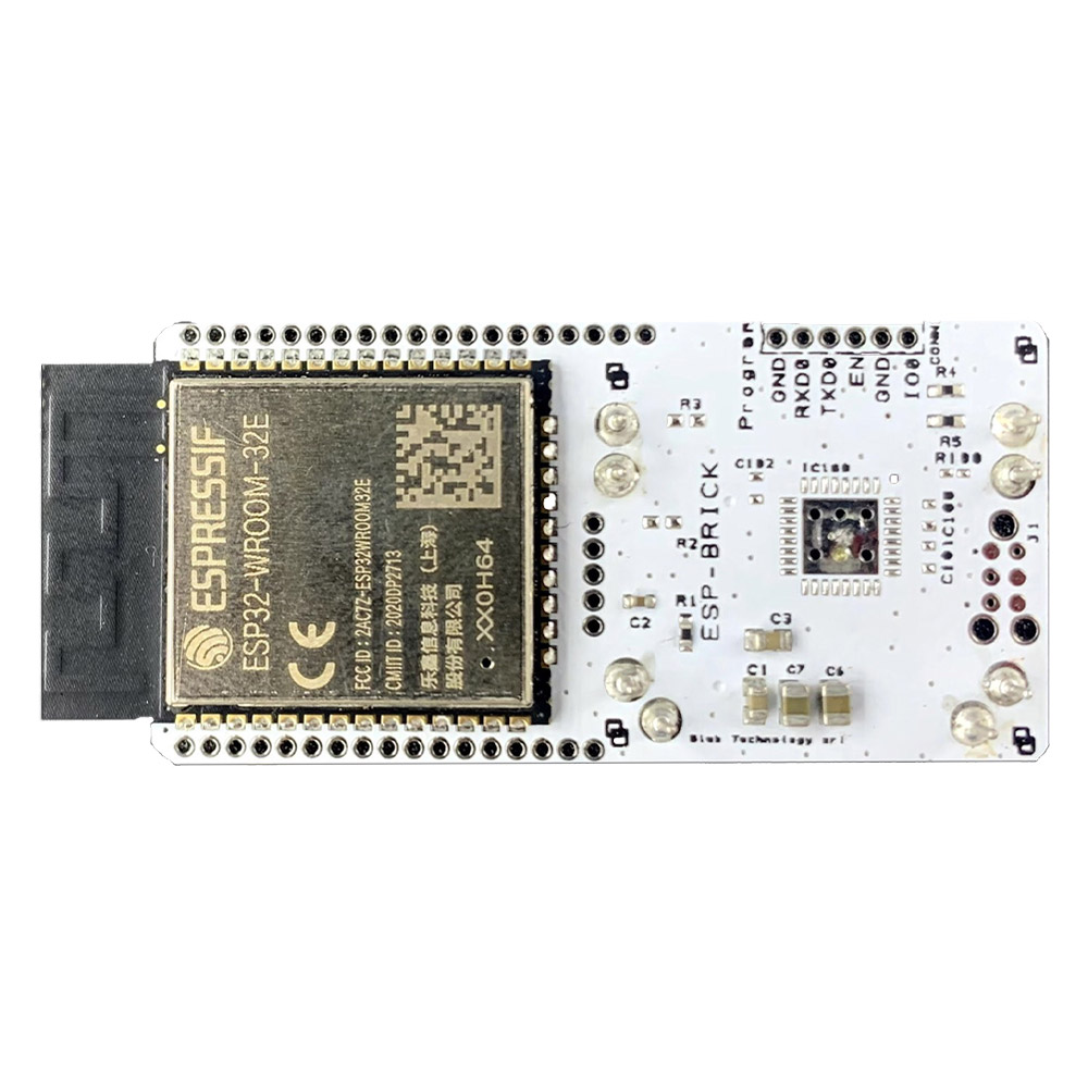 The Blebrick ESP Is A Communication And Data Processing Brick That Integrates An ESP32 Module. It Can Be Used To Offer The Following Features: Wi-Fi Communication (with Smartconfig), Gateway BLE / Wi-Fi, Edge Computing (pre-processing), And Other Features Via Specific Shields (i.e. ESP-CAM, ESP-SD).