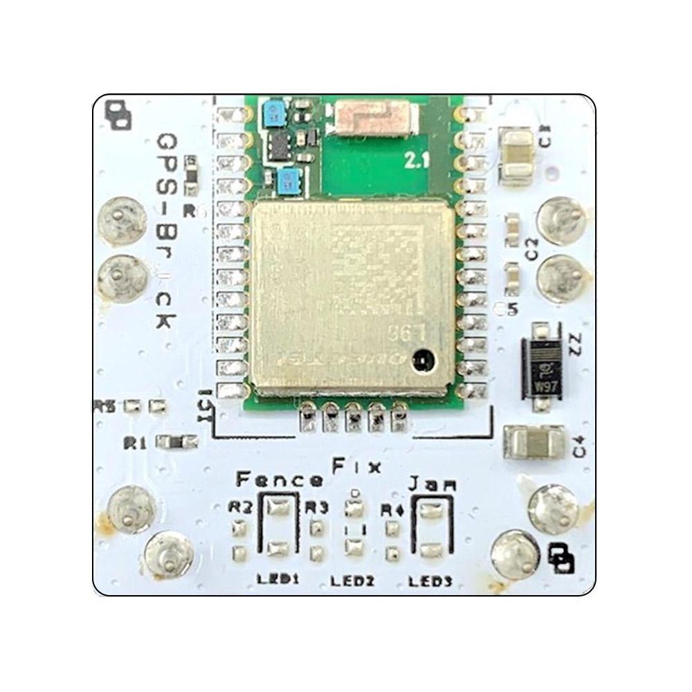 Il Blebrick GPS è un modulo di ricezione multi-GNSS con antenna integrata che supporta i sistemi di navigazione GPS, GLONASS, BeiDou, Galileo e QZSS