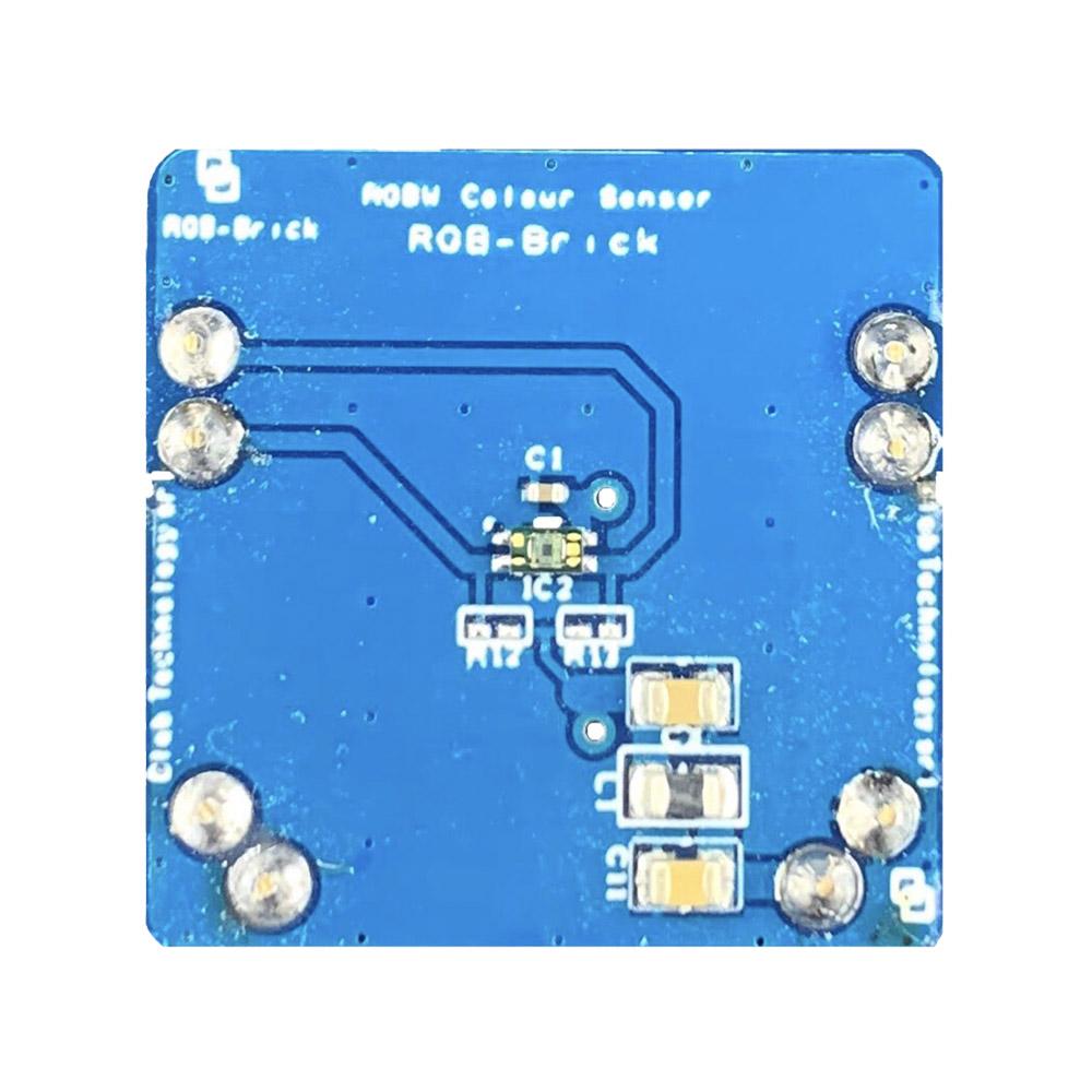 Il Blebrick RGB è un sensore che rileva i colori rosso, verde, blu e bianco