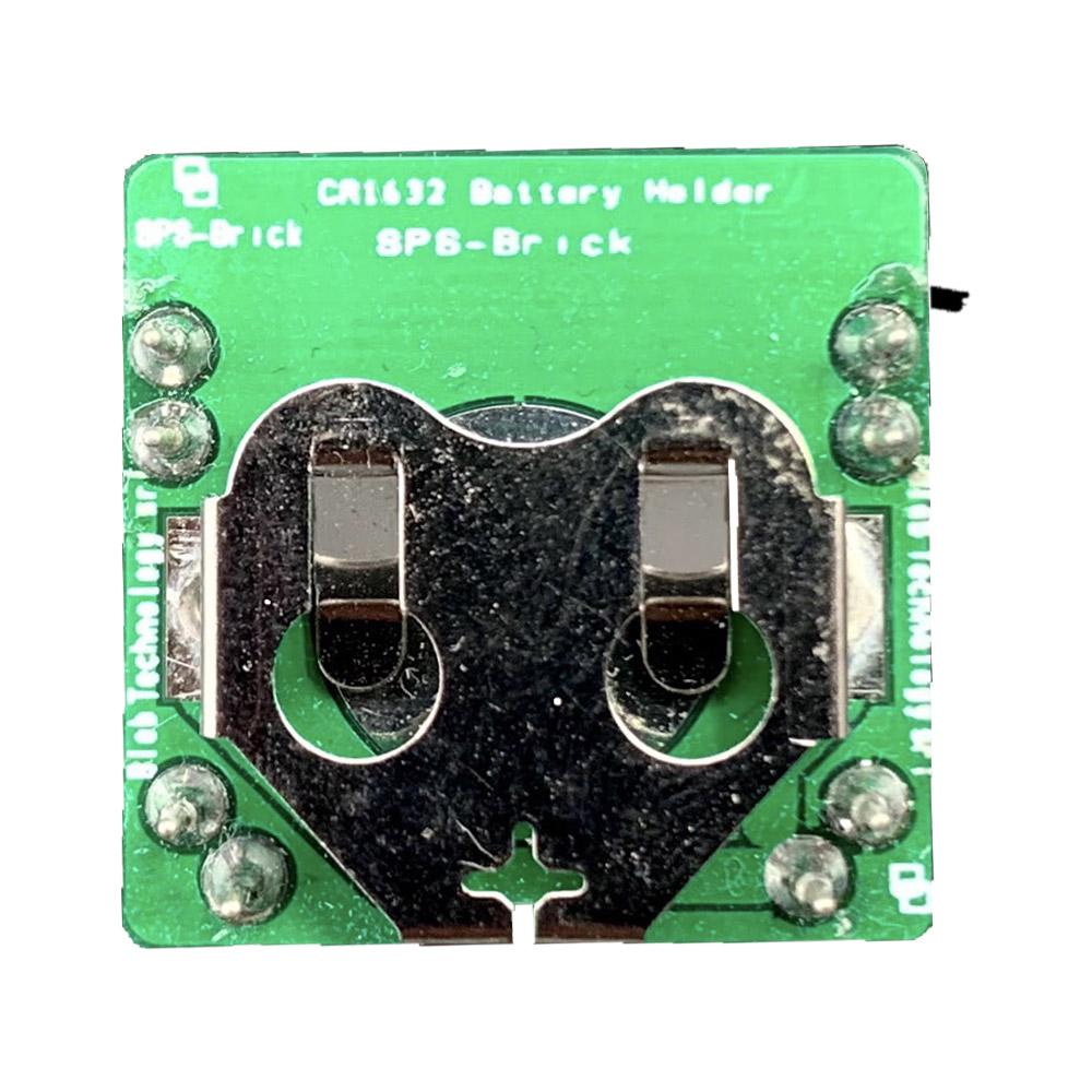 Il Blebrick SPS è un modulo di alimentazione che include un supporto per una batteria a bottone (CR1632)
