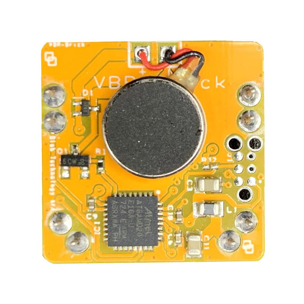Il Blebrick VBR è un attuatore con motorino vibrante in grado di inviare segnalazioni tattili