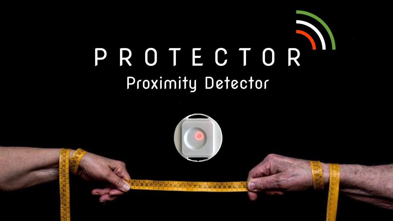 Il Protector Supporta Il Distanziamento Sociale E Il Tracciamento Dei Contagi Dati Dal Covid.